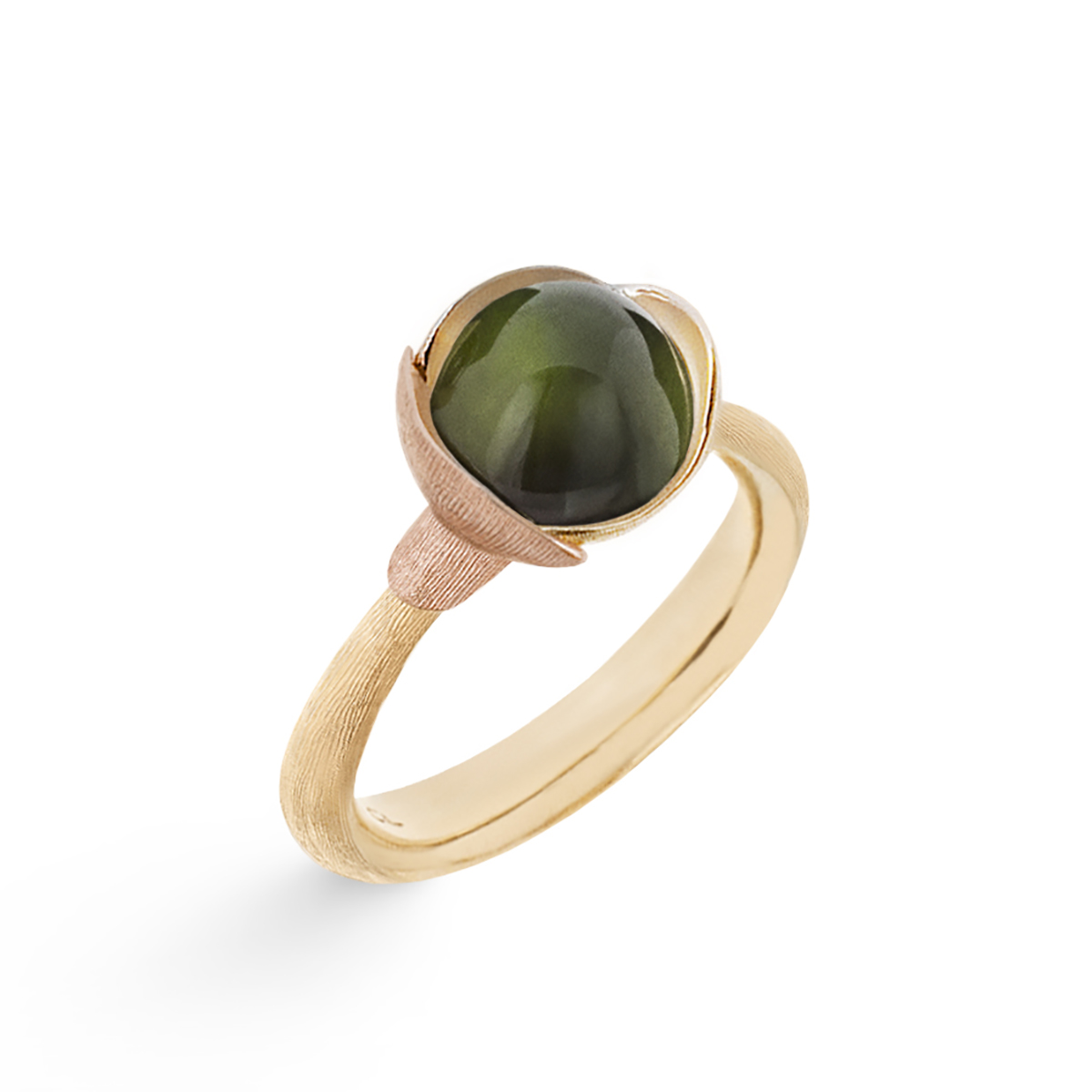 Ole_Lynggaard_Lotus_Ring-1_Green-Tourmaline