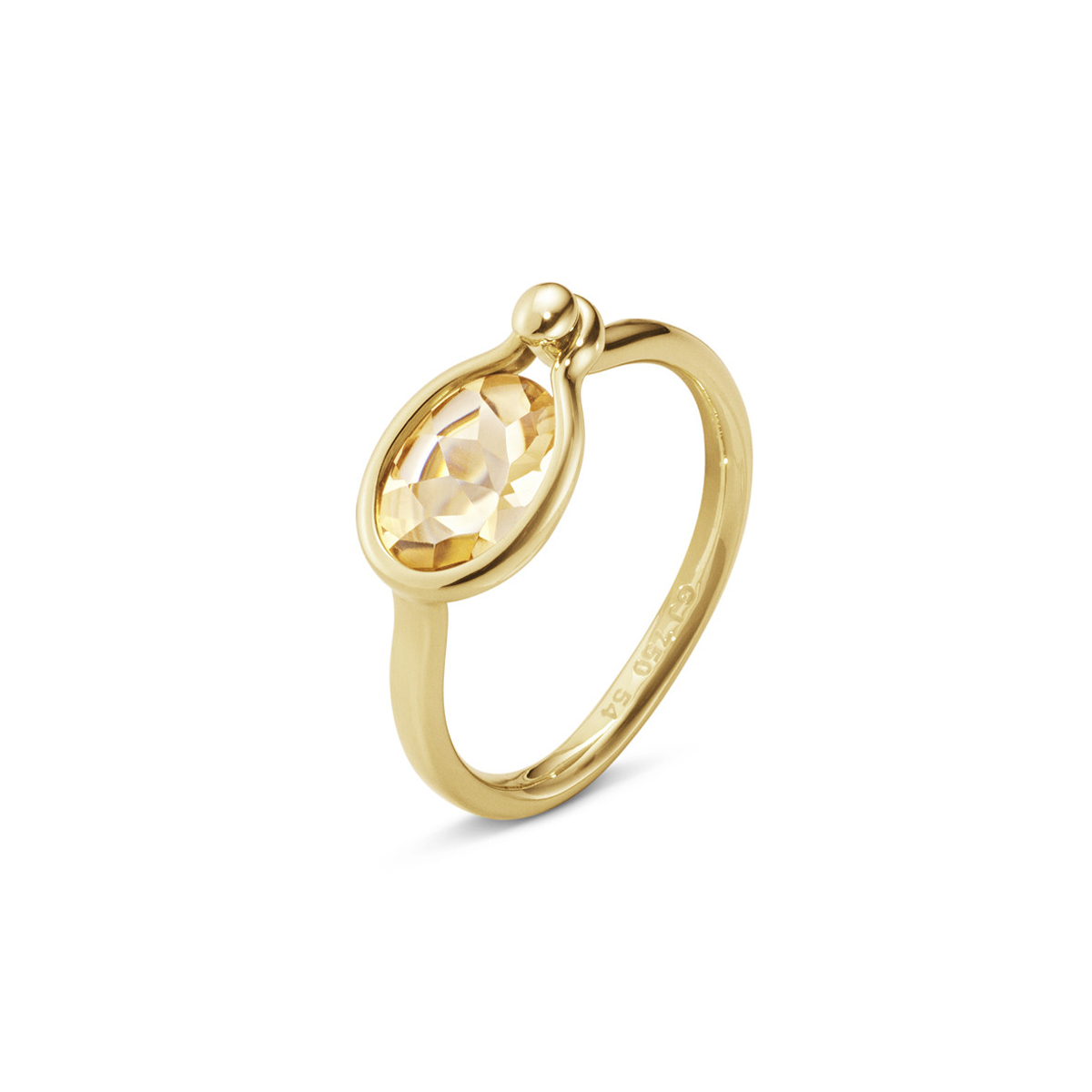 Georg_Jensen_SAVANNAH_SMALL_RING_1506C_YG_CITRINE